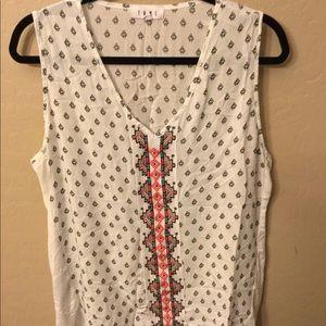 THML XL tank blouse